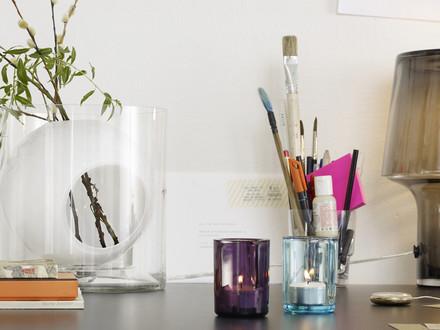 Muuto - Four Blumenvase, opalweiß