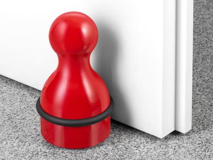 Türstopper - Sicherheit für Wand und Tür