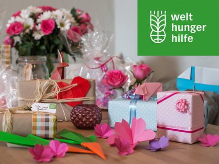 Geschenkspenden der Welthungerhilfe