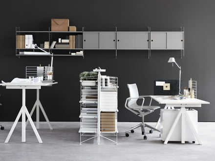 b ro einrichten ideen f r das home office. Black Bedroom Furniture Sets. Home Design Ideas