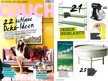 Couch, Nr. 9/2016 Inhalt