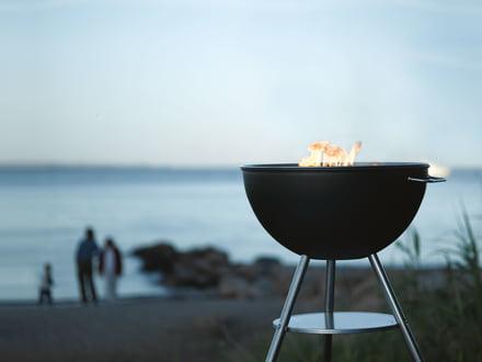Dancook Kugelgrill 1600 bei einem gemütlichen BBQ
