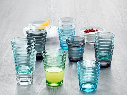 Gläser in zeitlosem Design