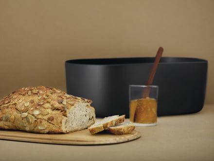 Zone//Brot Tasche schwarz//grau