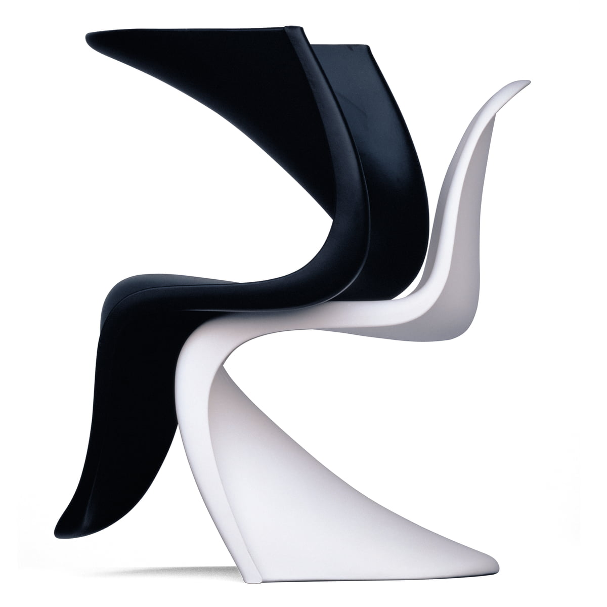 Panton chair original stuhl von vitra connox for Sillas de diseno famosas