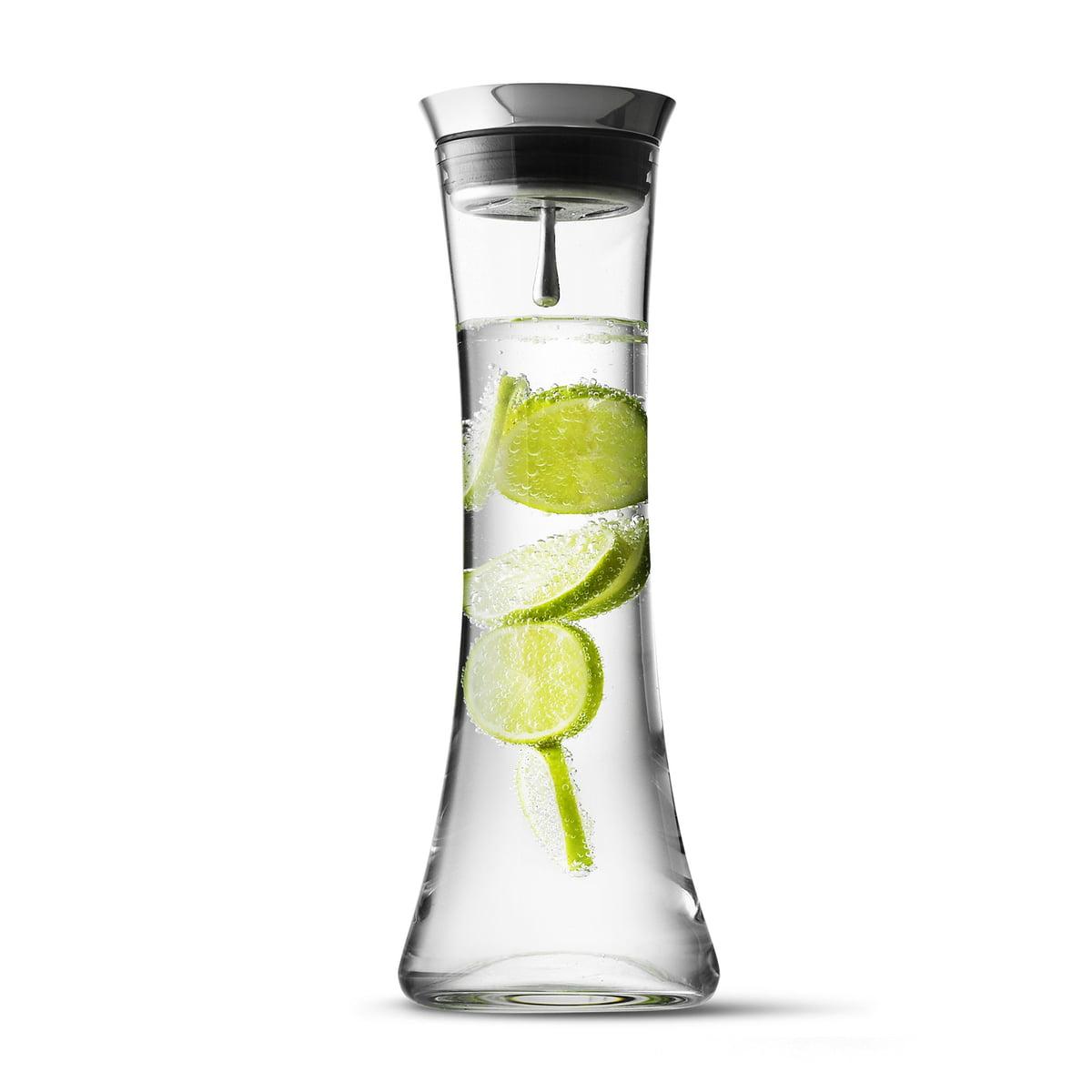 Wasserkaraffe mit Edelstahldeckel von Menu | Connox
