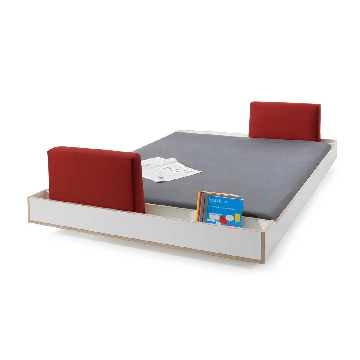 Couchbett in Weiß von Maude | Connox