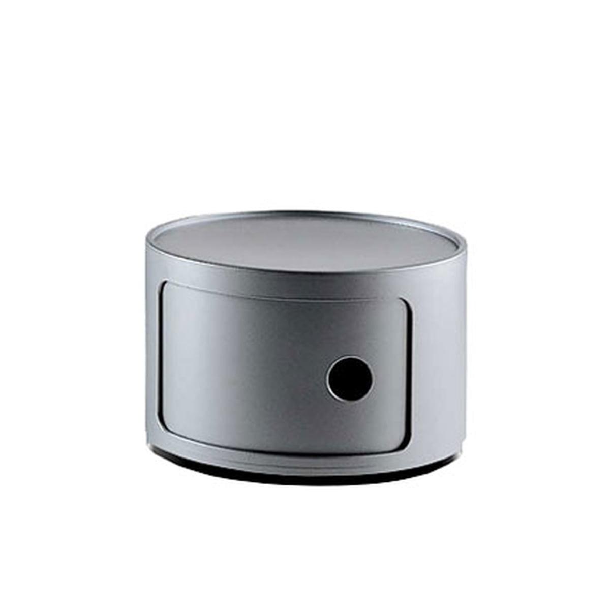 componibili 42 cm von kartell. Black Bedroom Furniture Sets. Home Design Ideas