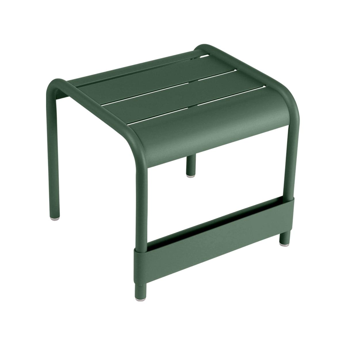 luxembourg niedriger tisch fu bank von fermob. Black Bedroom Furniture Sets. Home Design Ideas