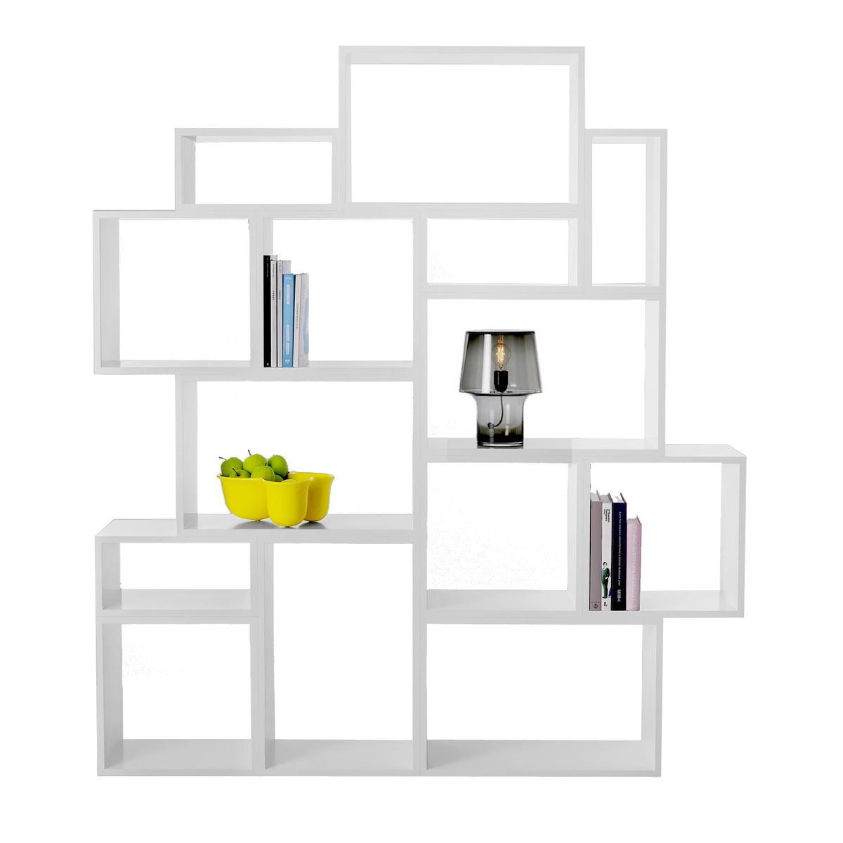 stacked wei regalsystem von muuto connox. Black Bedroom Furniture Sets. Home Design Ideas