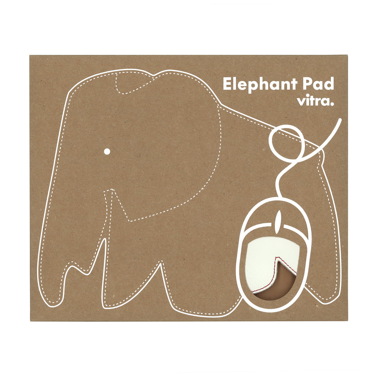 elephant mousepad von vitra. Black Bedroom Furniture Sets. Home Design Ideas