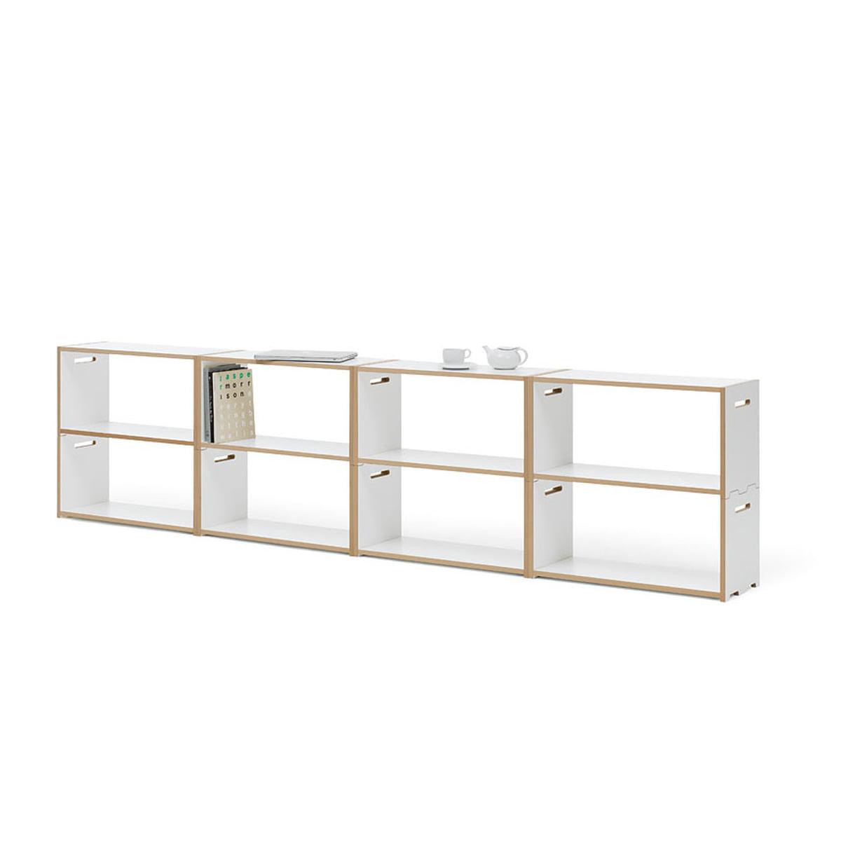 Hochstapler regalsystem von tojo im shop for Sideboard flach