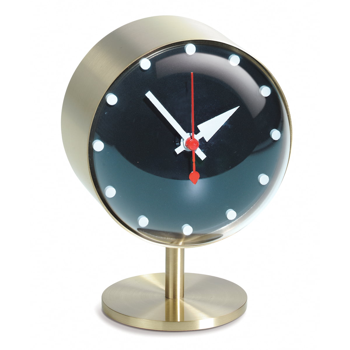 Night clock vitra shop for Design tischuhr