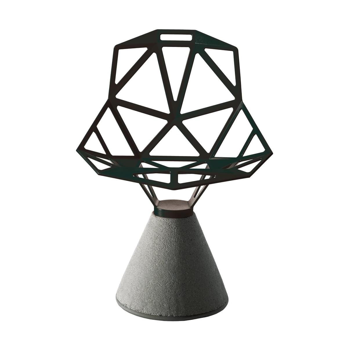 chair one mit zement sockel magis shop. Black Bedroom Furniture Sets. Home Design Ideas
