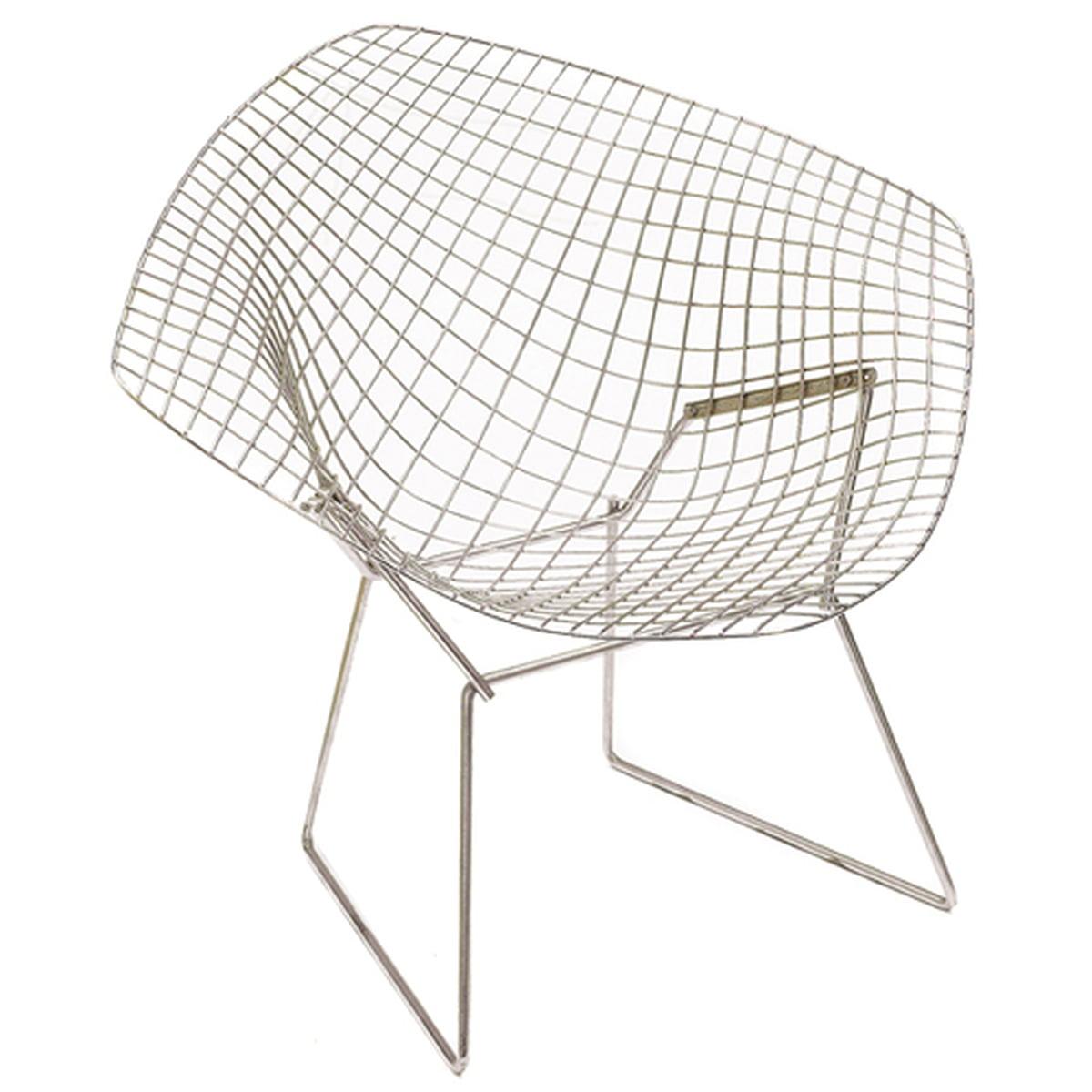bertoia diamond sessel von knoll connox. Black Bedroom Furniture Sets. Home Design Ideas