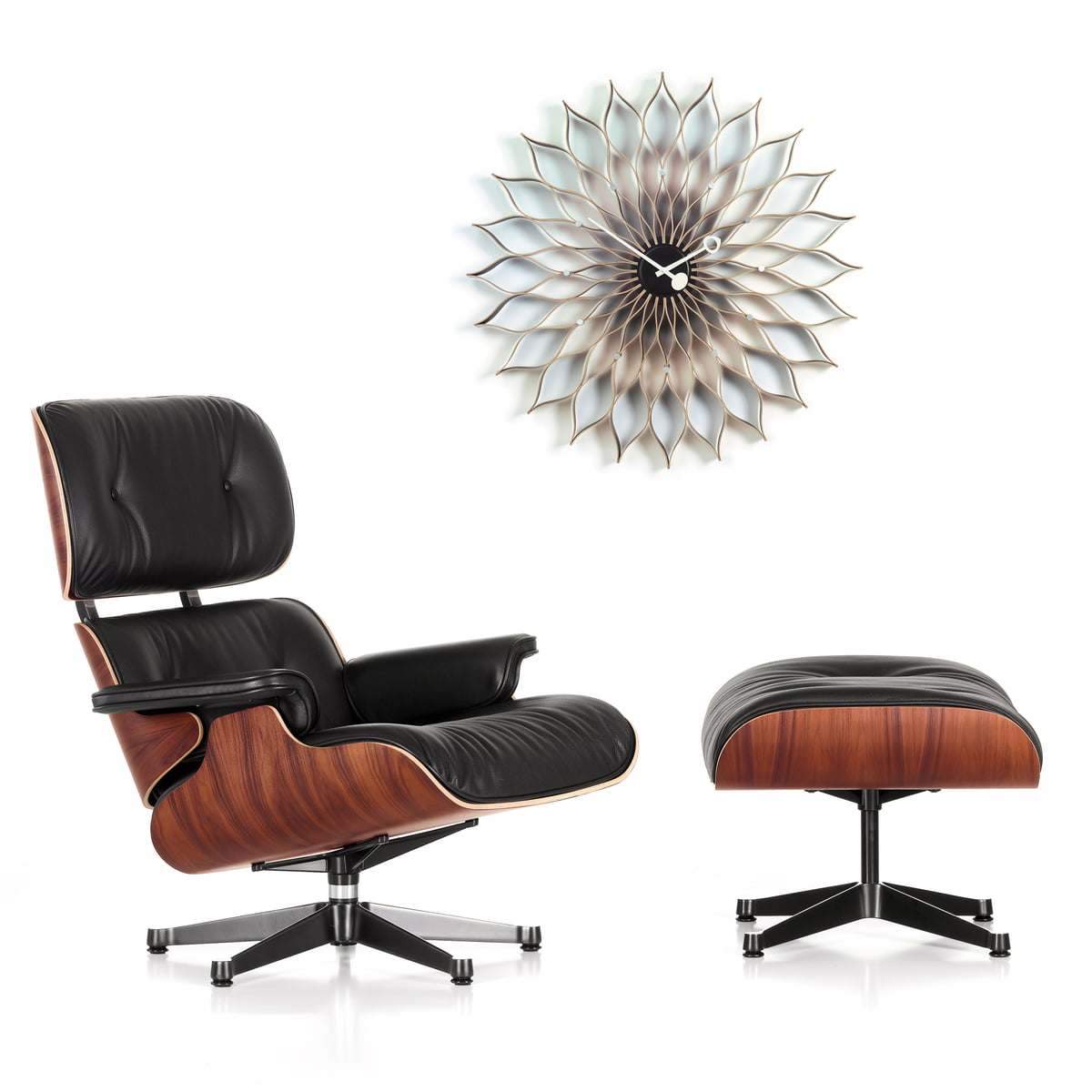 Sunflower von vitra im shop for Vitra lounge chair nachbau