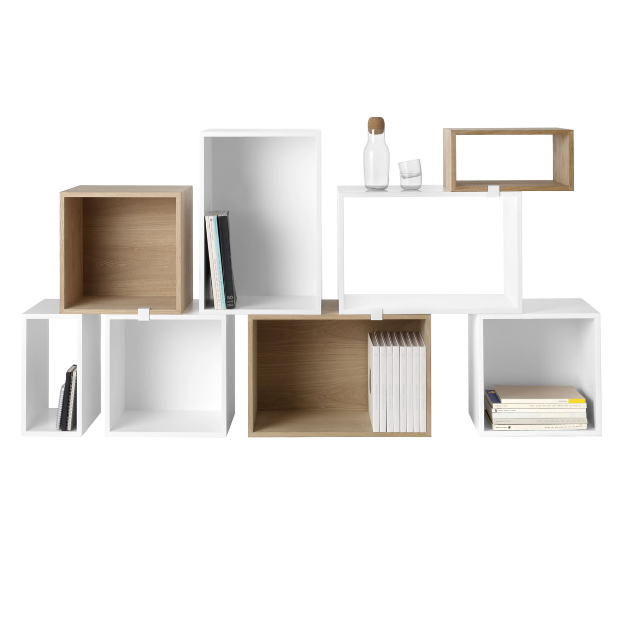 stacked regalsystem wei muuto shop. Black Bedroom Furniture Sets. Home Design Ideas