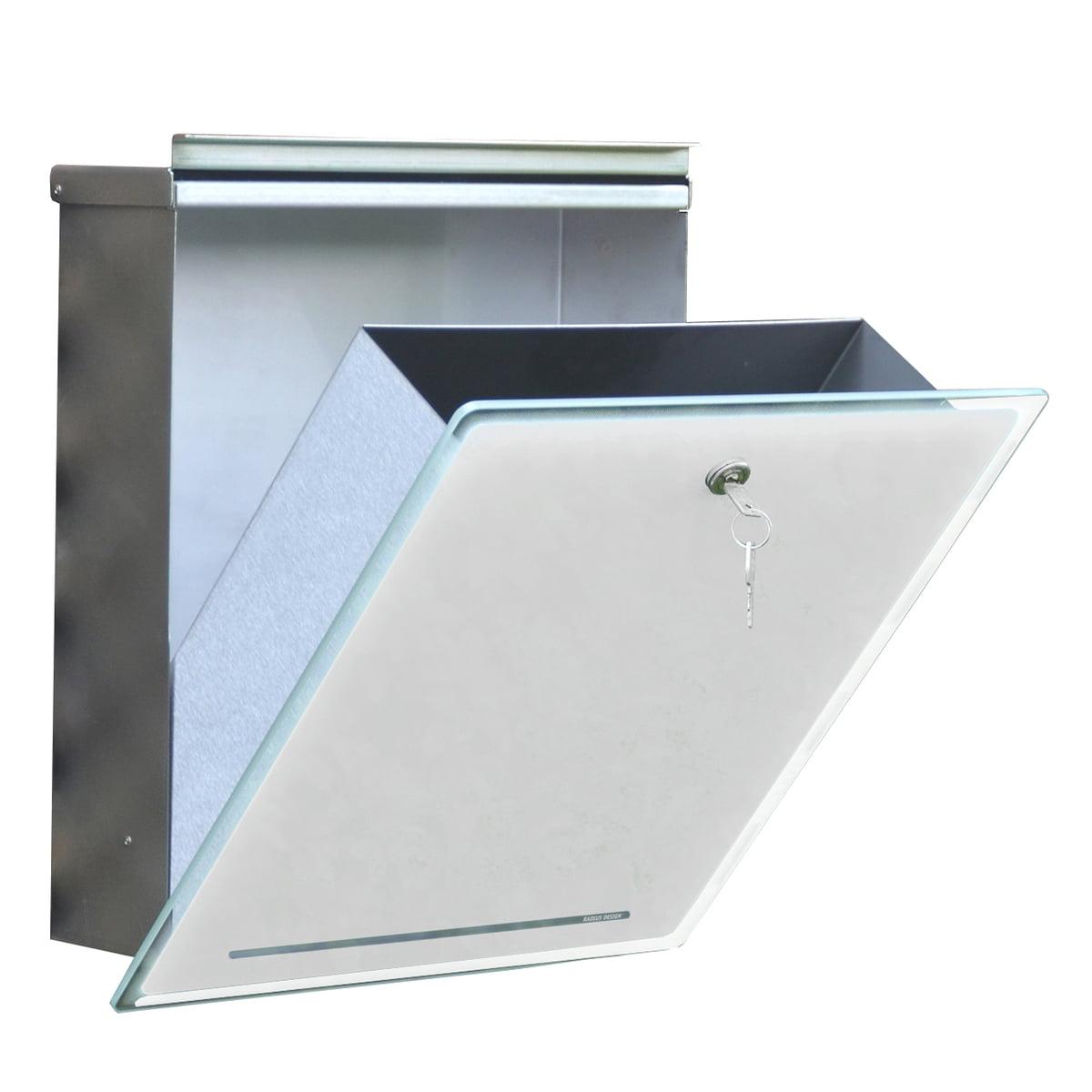 briefkasten letterman iii von radius design. Black Bedroom Furniture Sets. Home Design Ideas