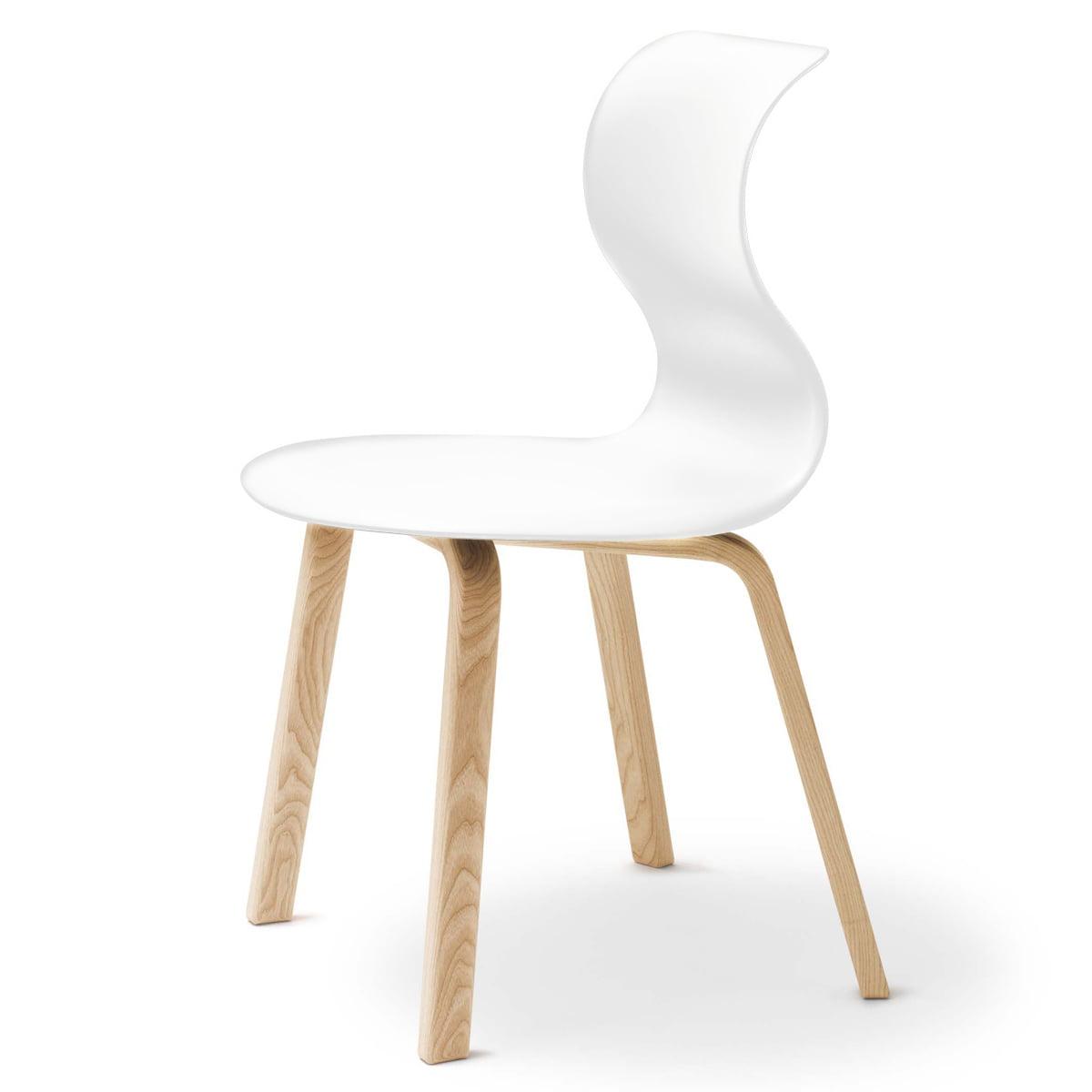 Flötotto Pro 6 Stuhl, Vierbeinholzgestell
