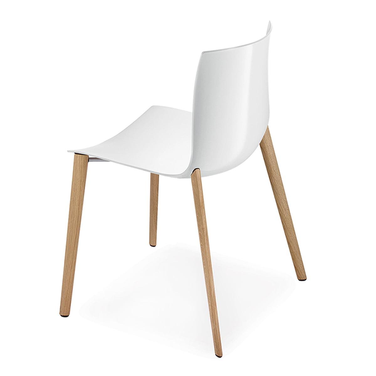 catifa 46 stuhl holz vierfu gestell von arper connox. Black Bedroom Furniture Sets. Home Design Ideas