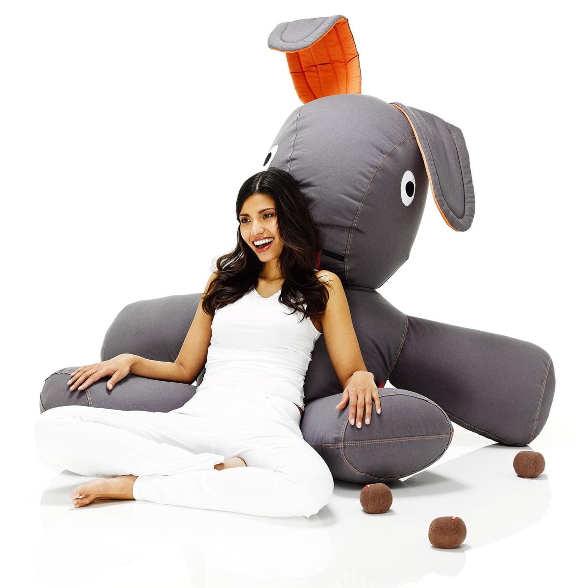 Charming Einfache Dekoration Und Mobel Fatboy Co Xs #9: Fatboy, Kaninchen XS - Situation Mit Frau, Sitzend