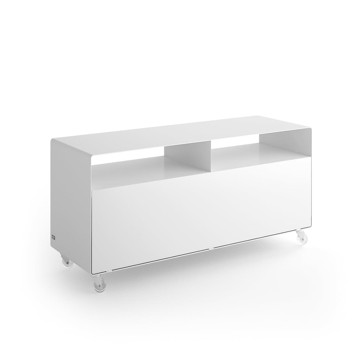 sideboard auf rollen mit tv auslass im shop. Black Bedroom Furniture Sets. Home Design Ideas