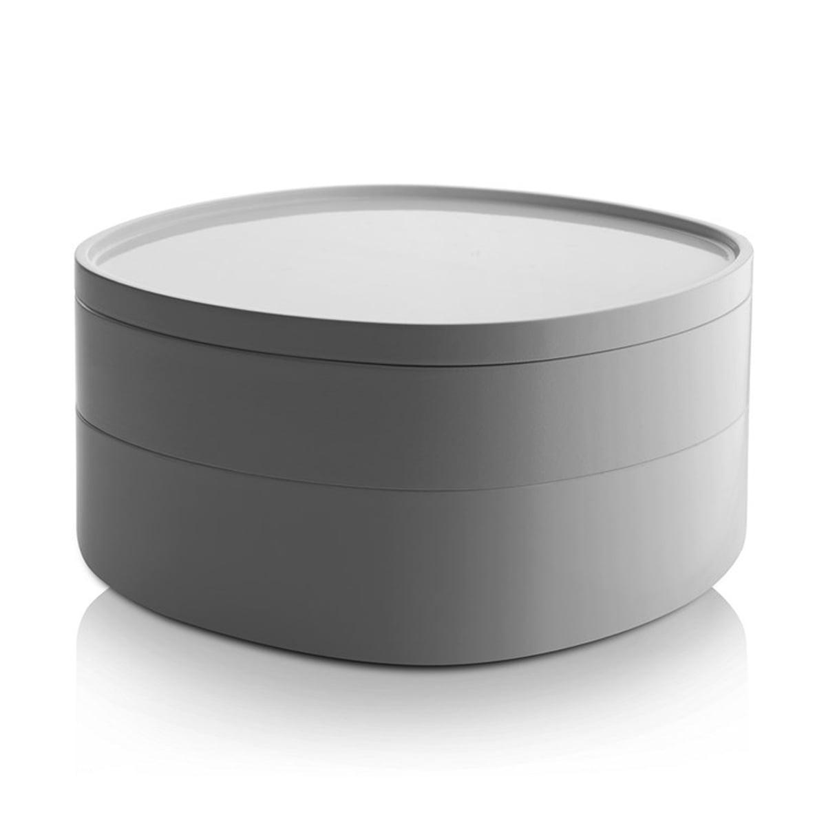 Alessi - Birillo Bad- Behälter PL10 W, weiß