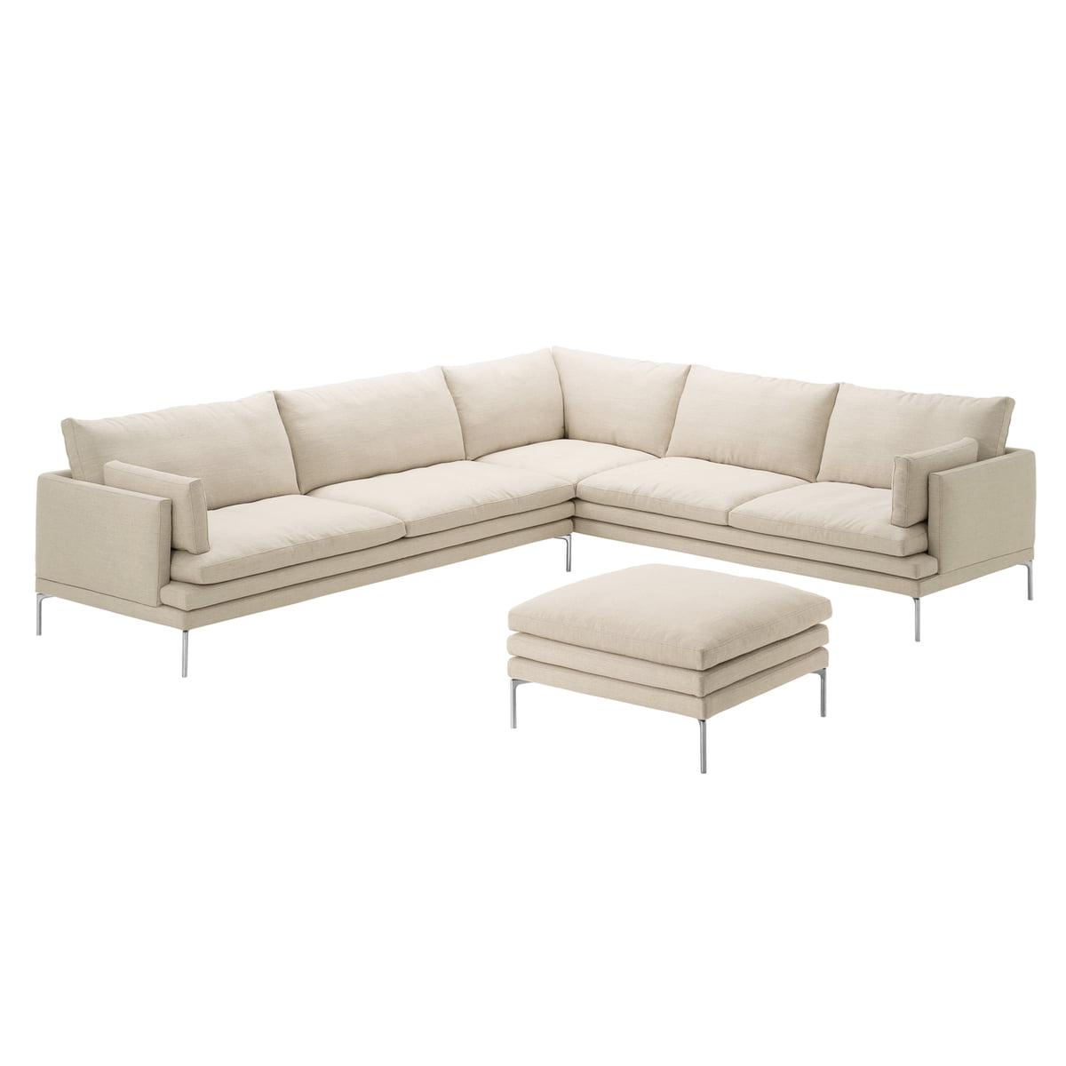 zanotta sofa william jetzt kaufen connox. Black Bedroom Furniture Sets. Home Design Ideas