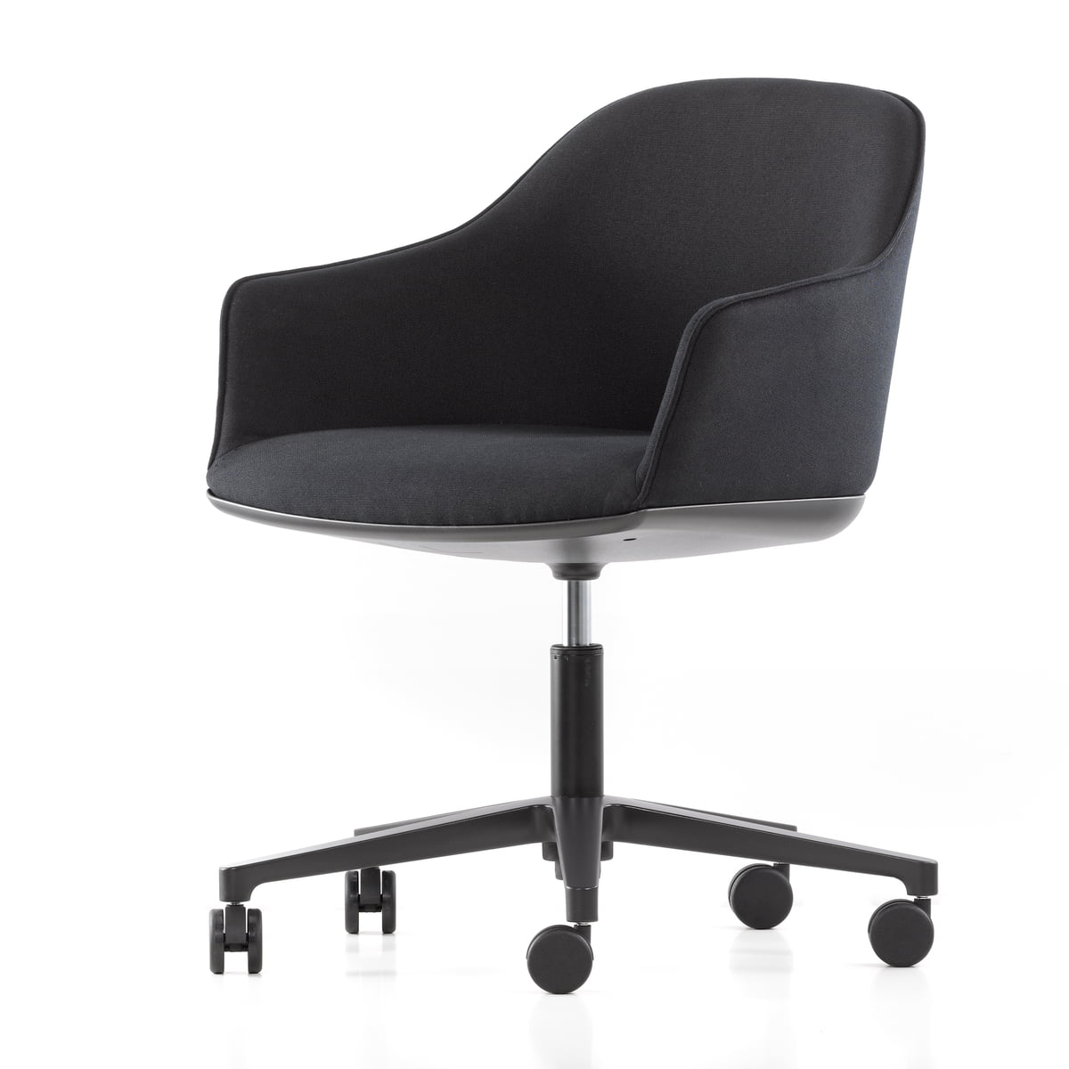 softshell chair vitra stuhl mit rollen kaufen. Black Bedroom Furniture Sets. Home Design Ideas