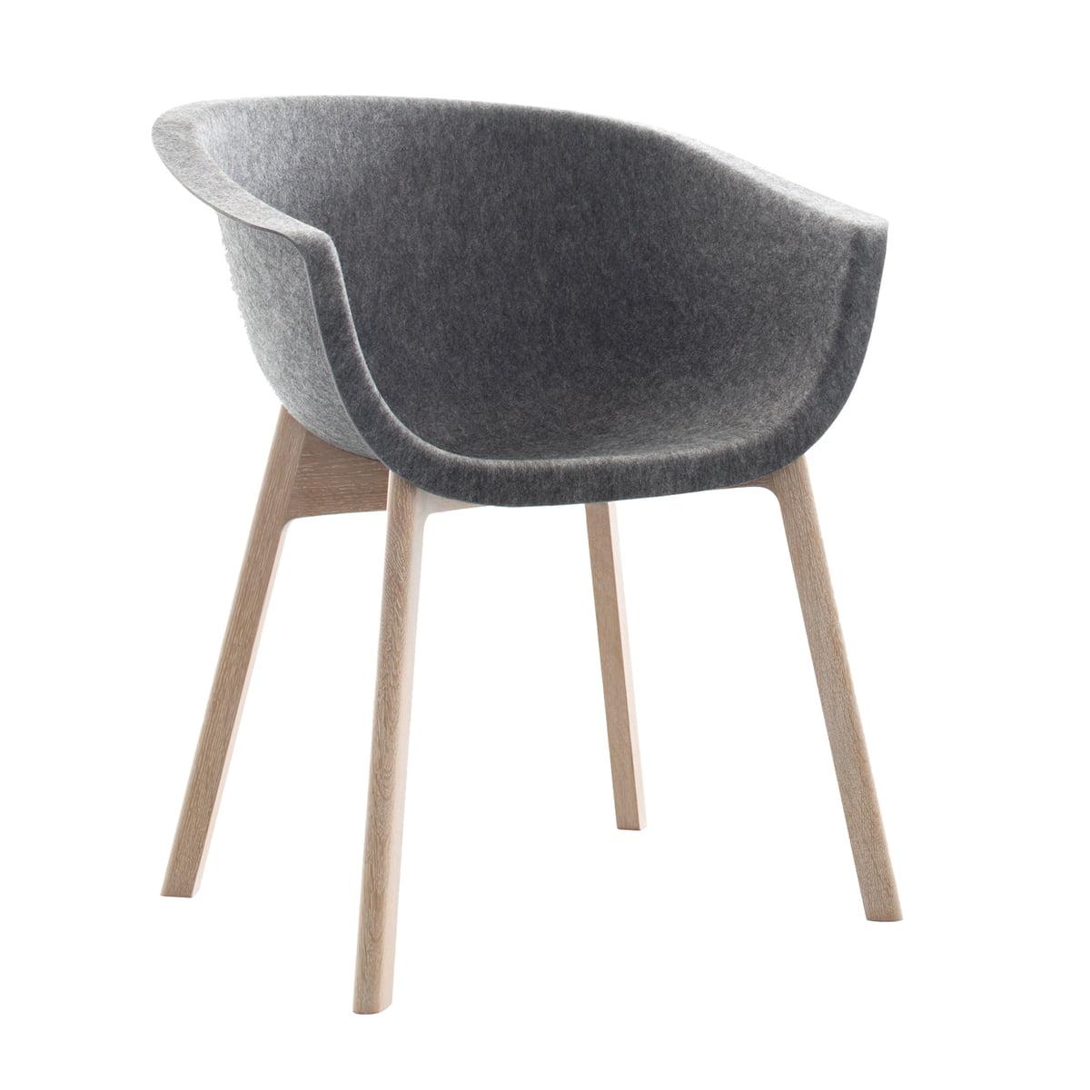Chairman von conmoto im wohndesign shop for Design stuhl filz
