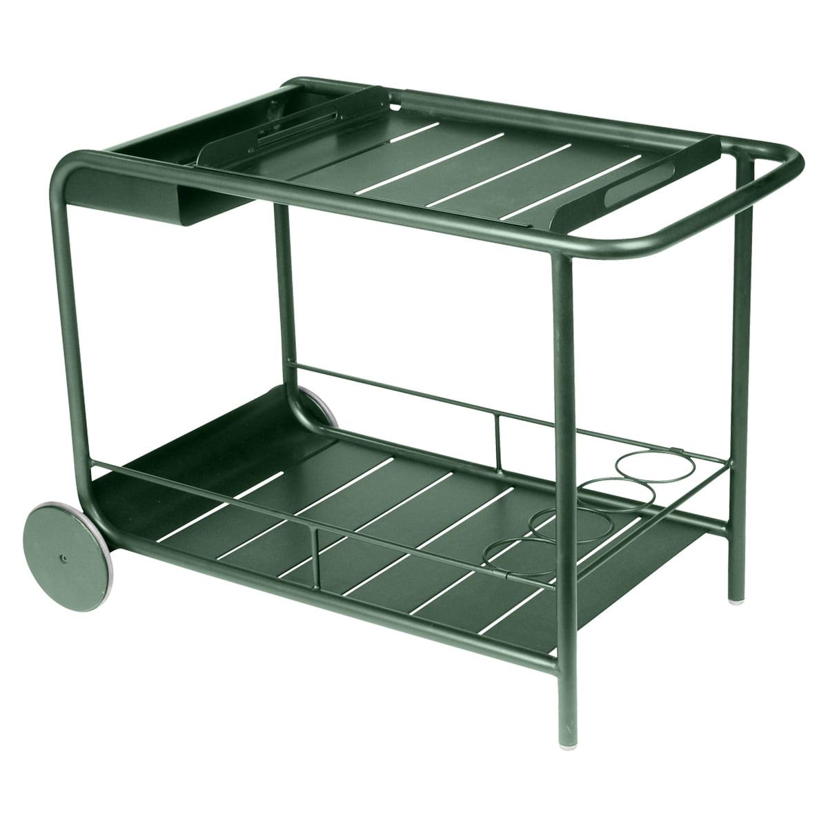 luxembourg servierwagen von fermob connox. Black Bedroom Furniture Sets. Home Design Ideas
