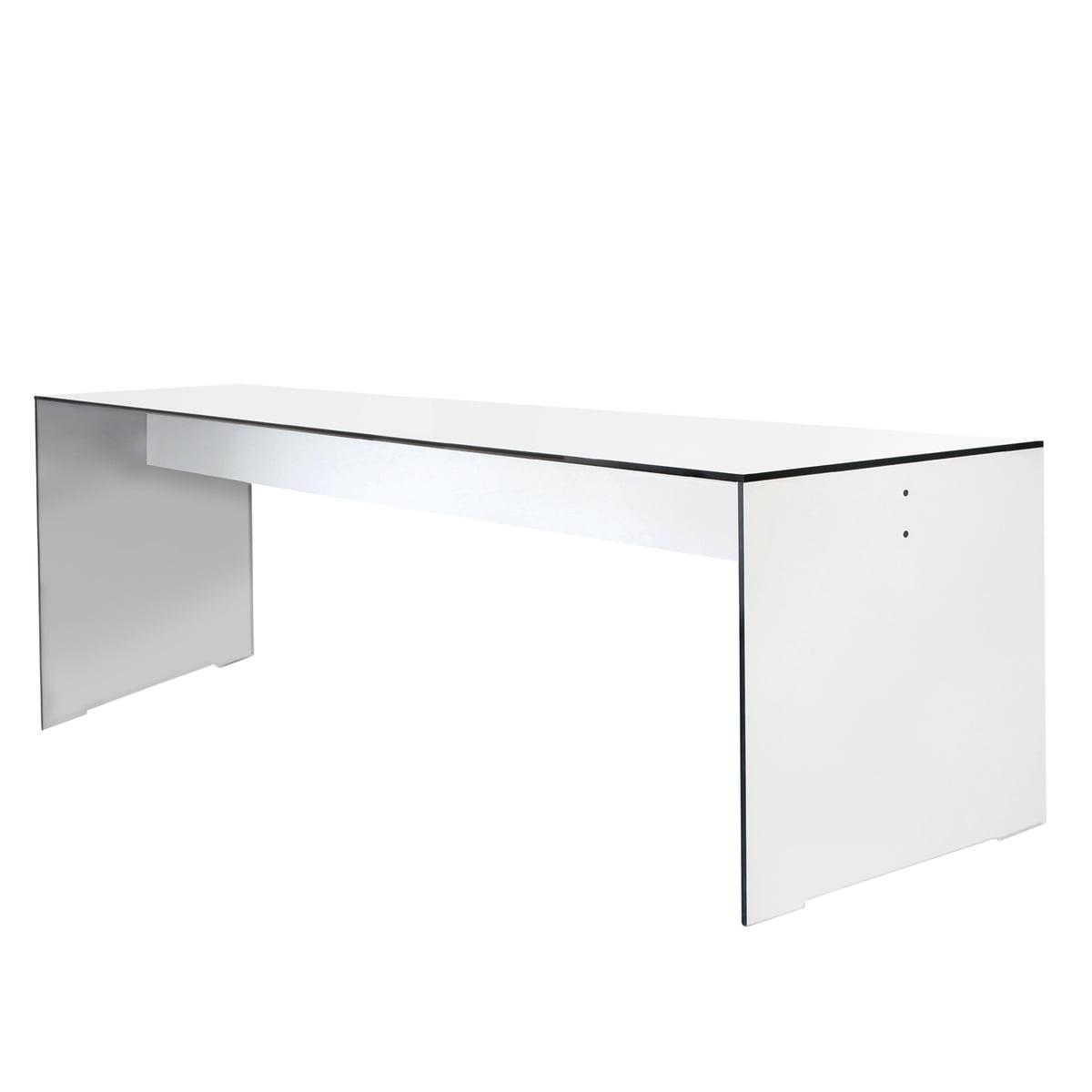 Conmoto - Riva Tisch, weiß, 220 cm
