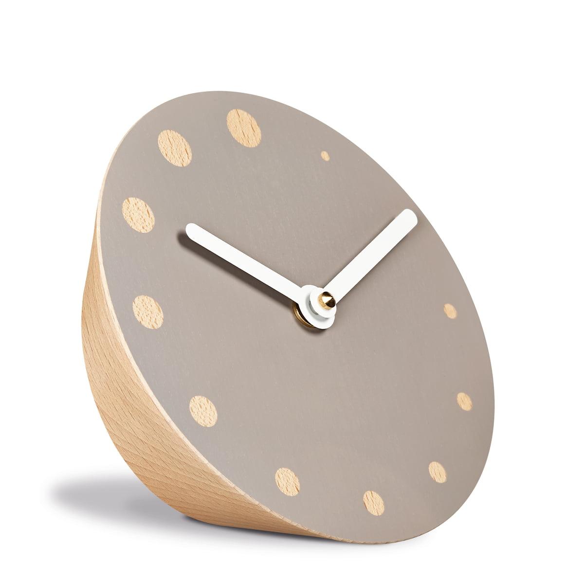 Rockaclock tischuhr von siebensachen for Design tischuhr