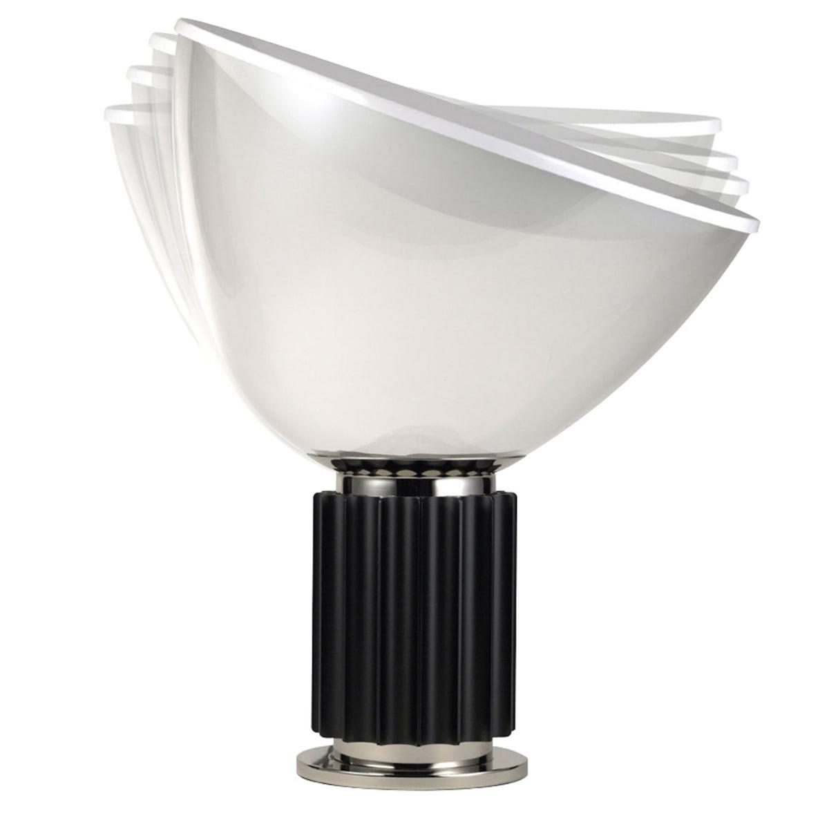 Flos   Taccia LED Schwarz, Verstellbar