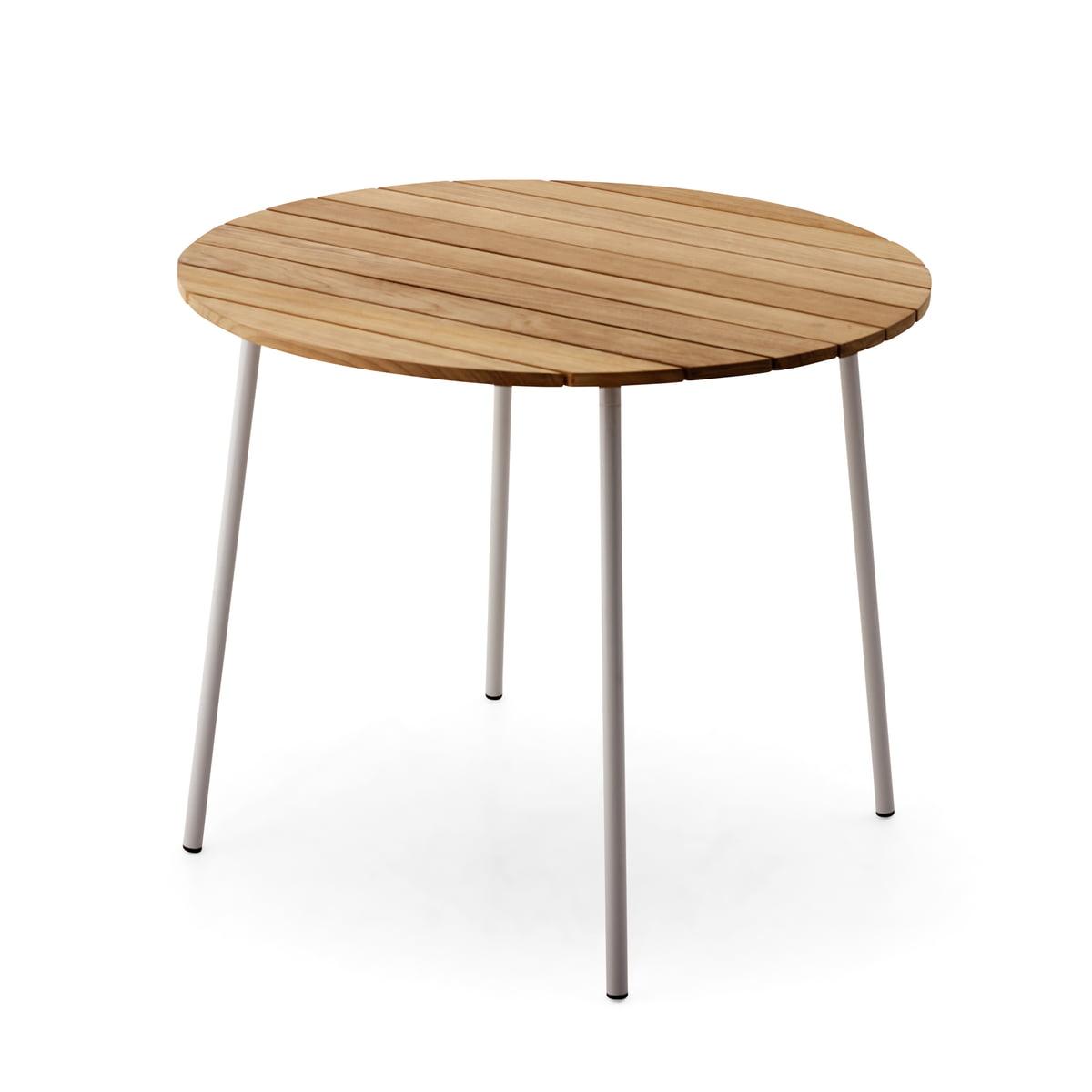 Tisch gezeichnet  Flux Tisch von Skagerak im Wohndesign-Shop
