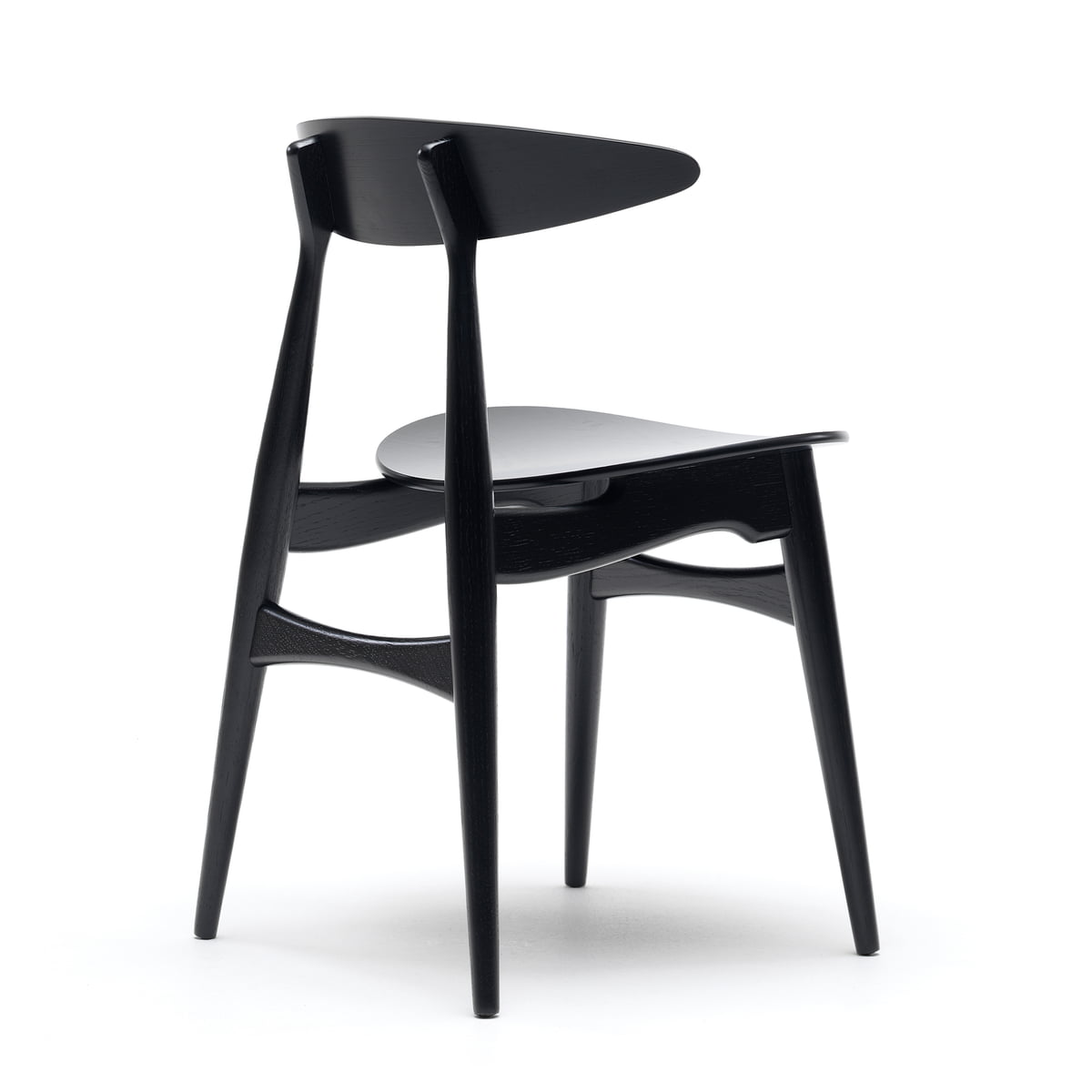 carl hansen ch33 t stuhl im wohndesign shop. Black Bedroom Furniture Sets. Home Design Ideas