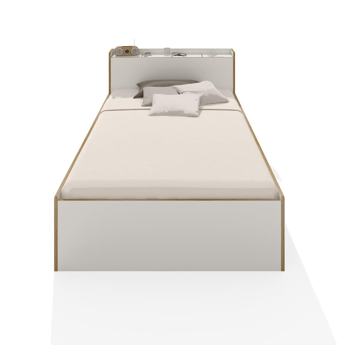 Amüsant Einzelbett Weiß Dekoration Von Müller Möbelwerkstätten - Nook Einzelbett, Weiß