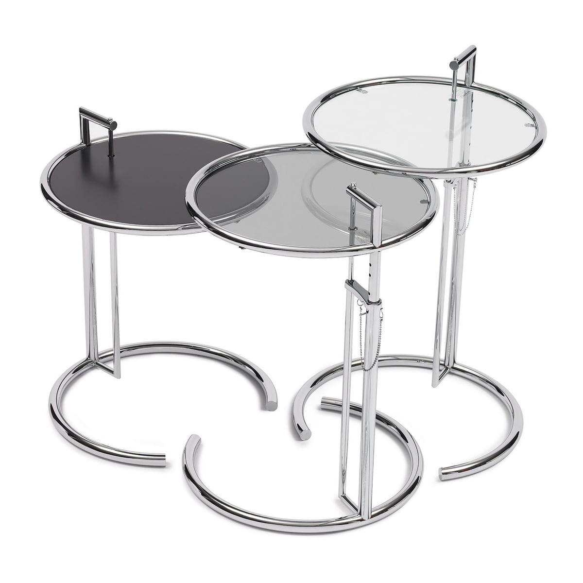 classicon adjustable table e 102 mit unterschiedlichen oberflachen