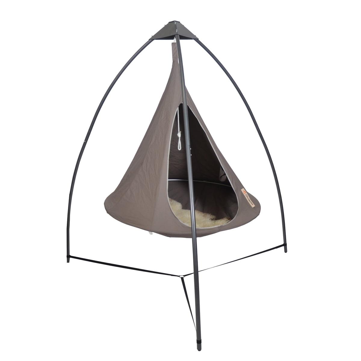 cacoon metallgestell f r h ngesessel im shop. Black Bedroom Furniture Sets. Home Design Ideas