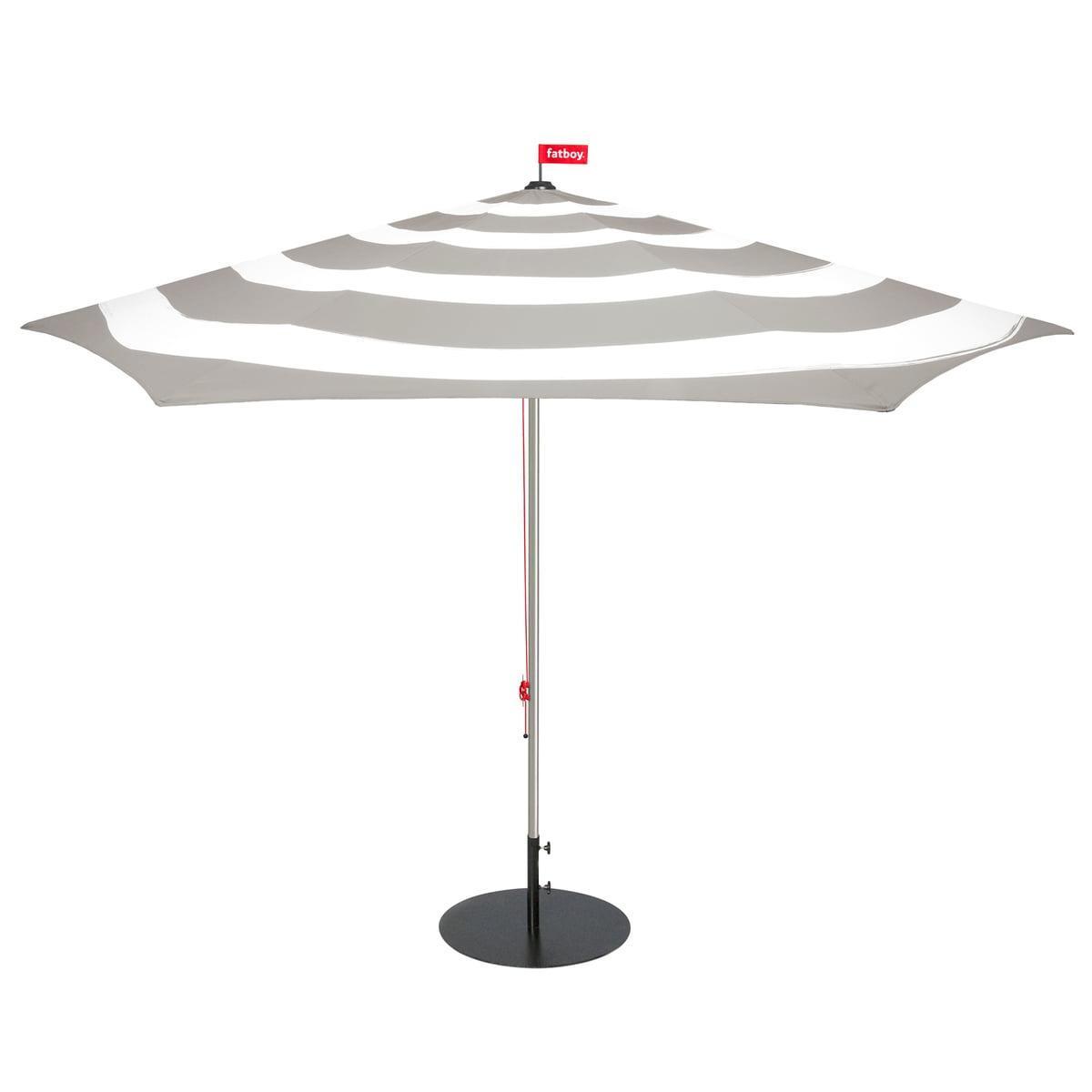 stripesol sonnenschirm von fatboy im shop. Black Bedroom Furniture Sets. Home Design Ideas
