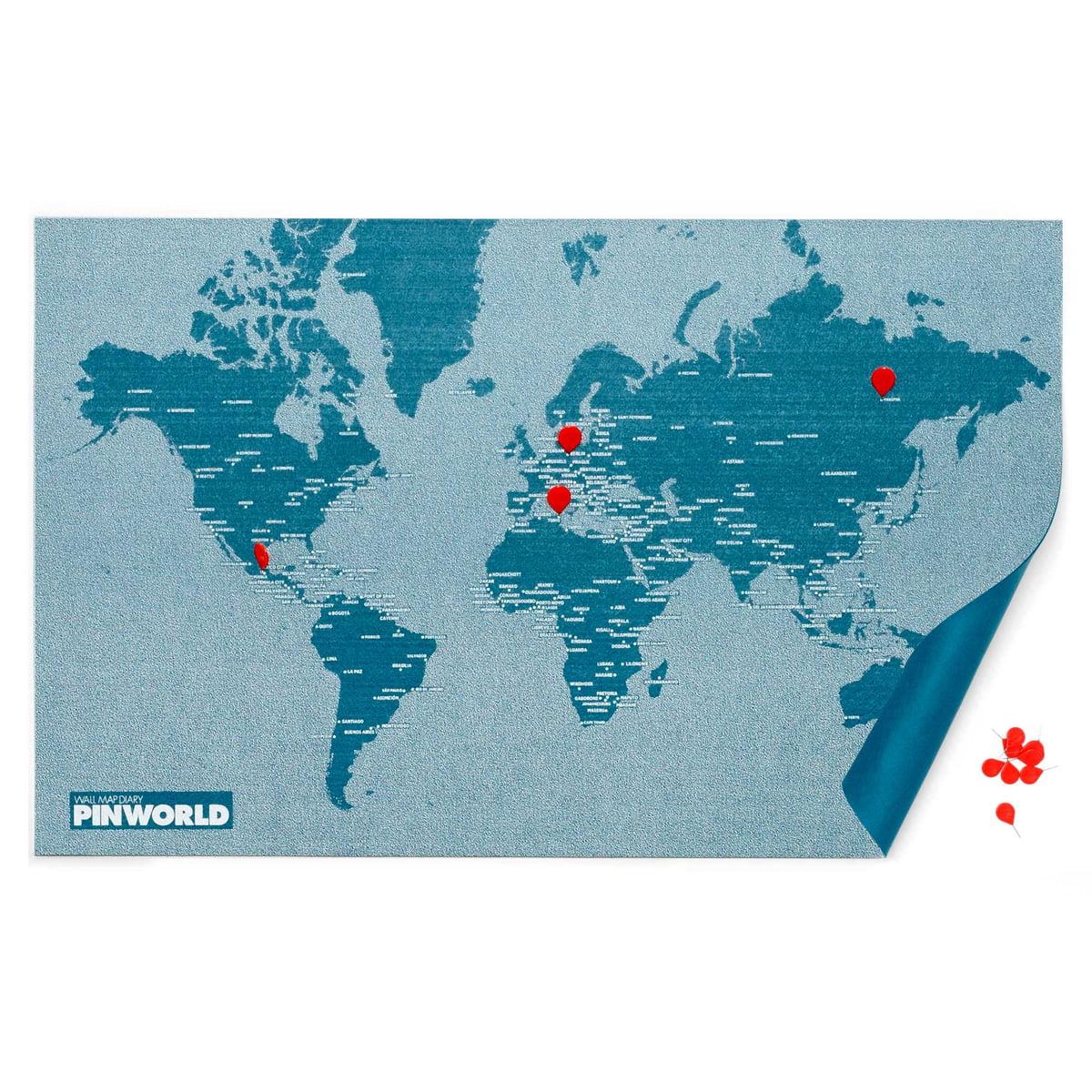 pin world map