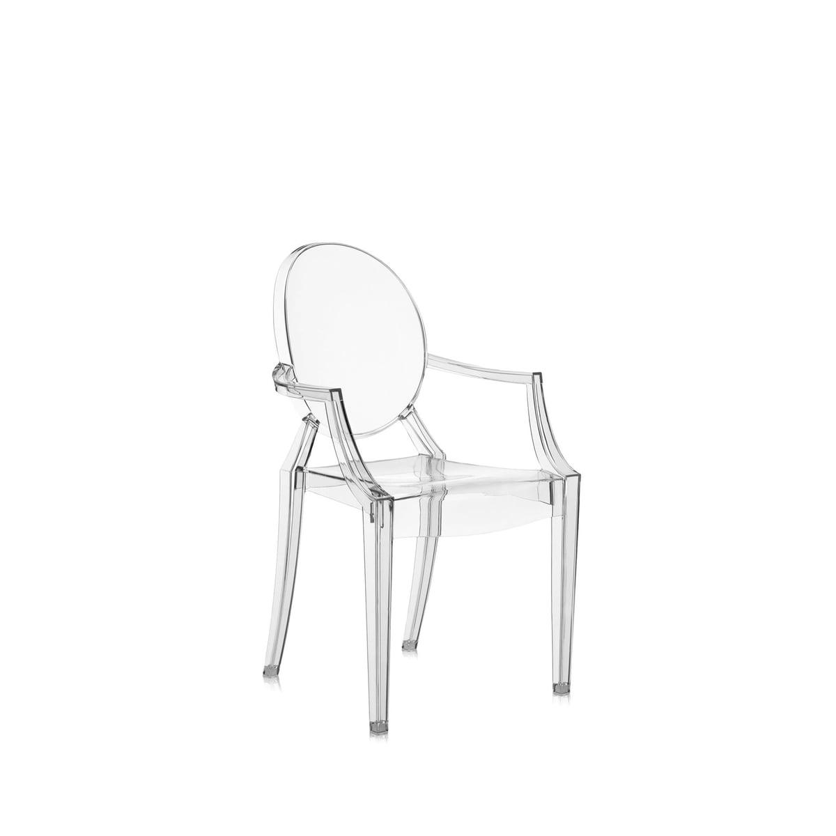 kinderstuhl lou lou ghost von kartell im shop. Black Bedroom Furniture Sets. Home Design Ideas