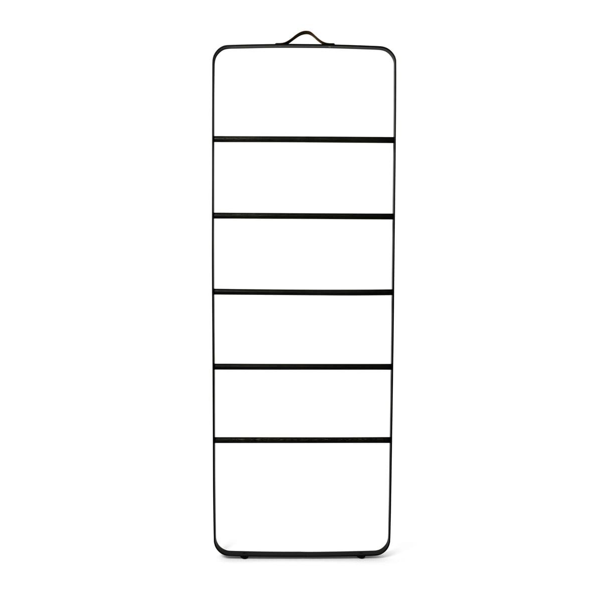 Handtuchleiter Eiche handtuchhalter towel ladder menu im shop