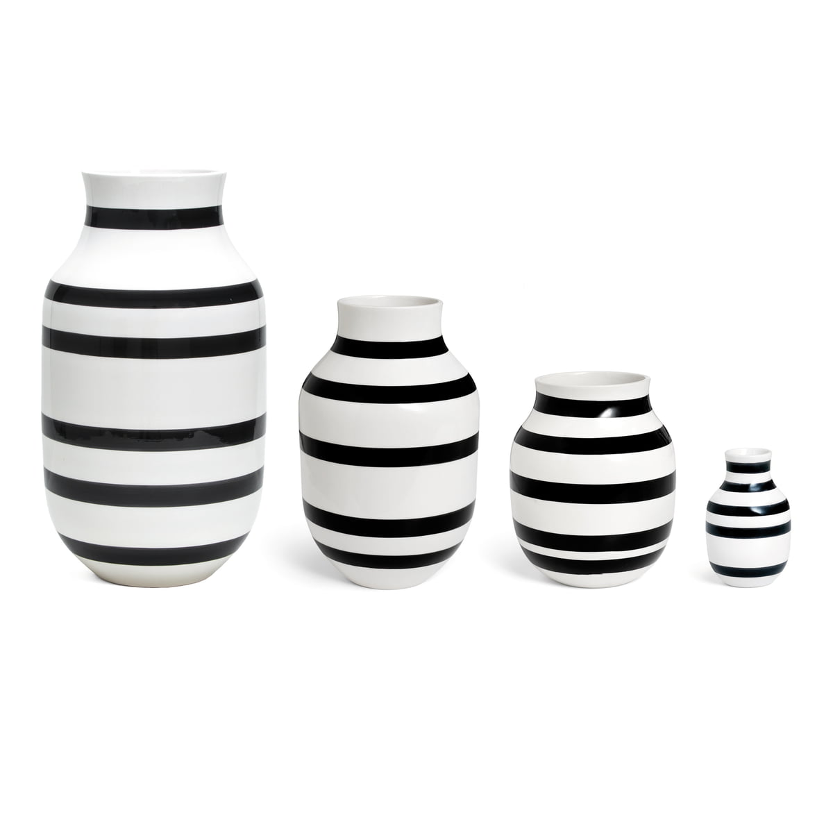 omaggio vase h 12 5 cm von k hler design connox. Black Bedroom Furniture Sets. Home Design Ideas