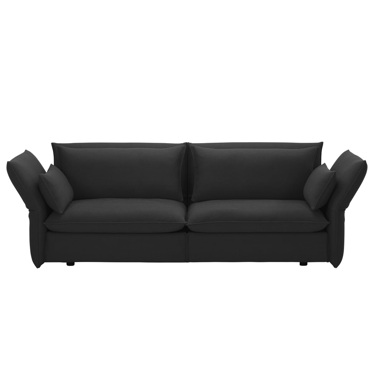 Vitra mariposa 3 sitzer sofa imwohndesign shop for 3 on a couch