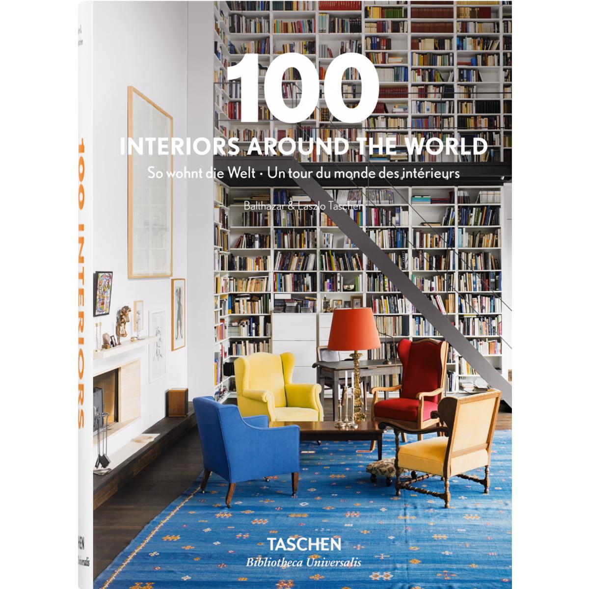 TASCHEN Deutschland, 100 Interiors Around the World