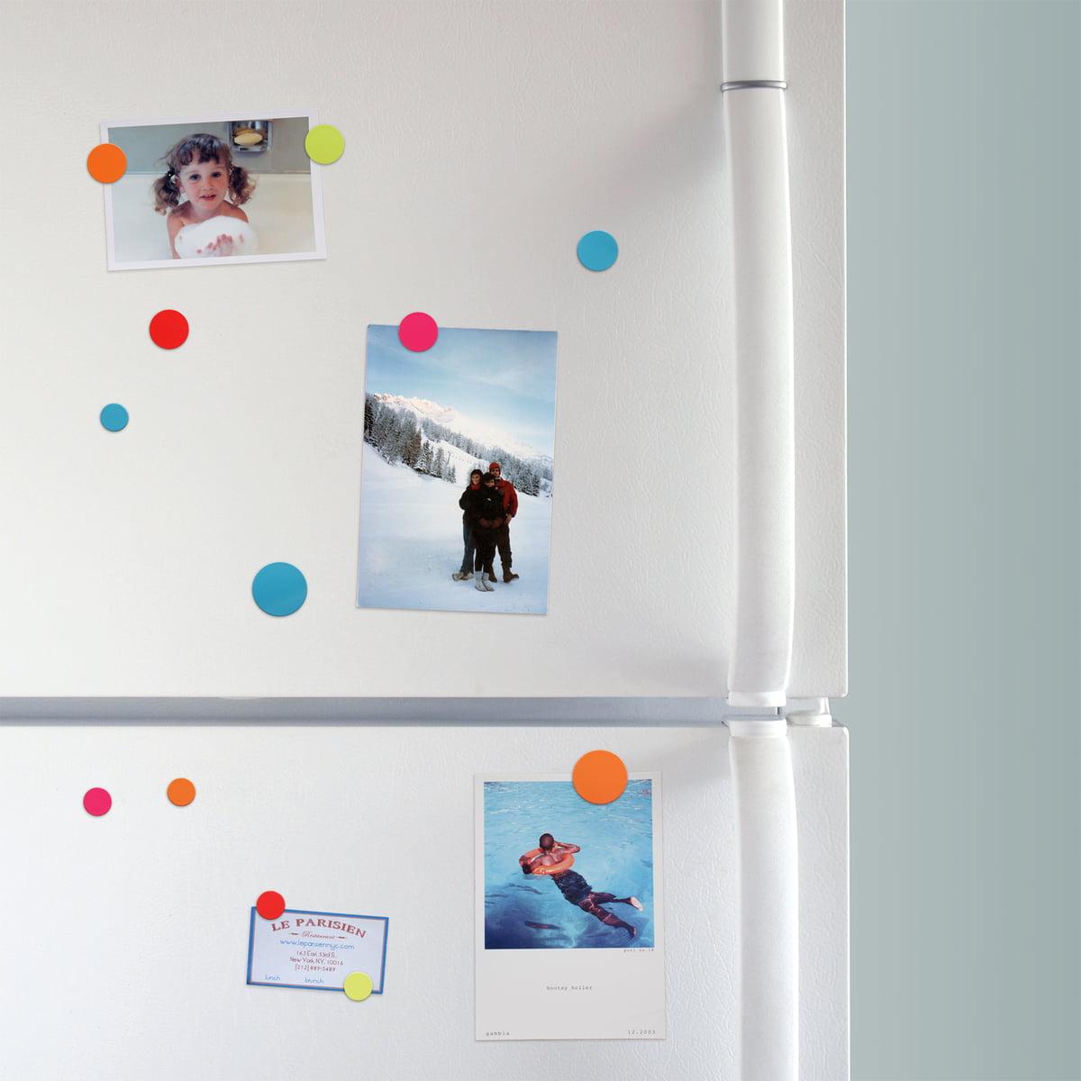 Farbige Color Dot Magnete von ThreeByThree im Shop