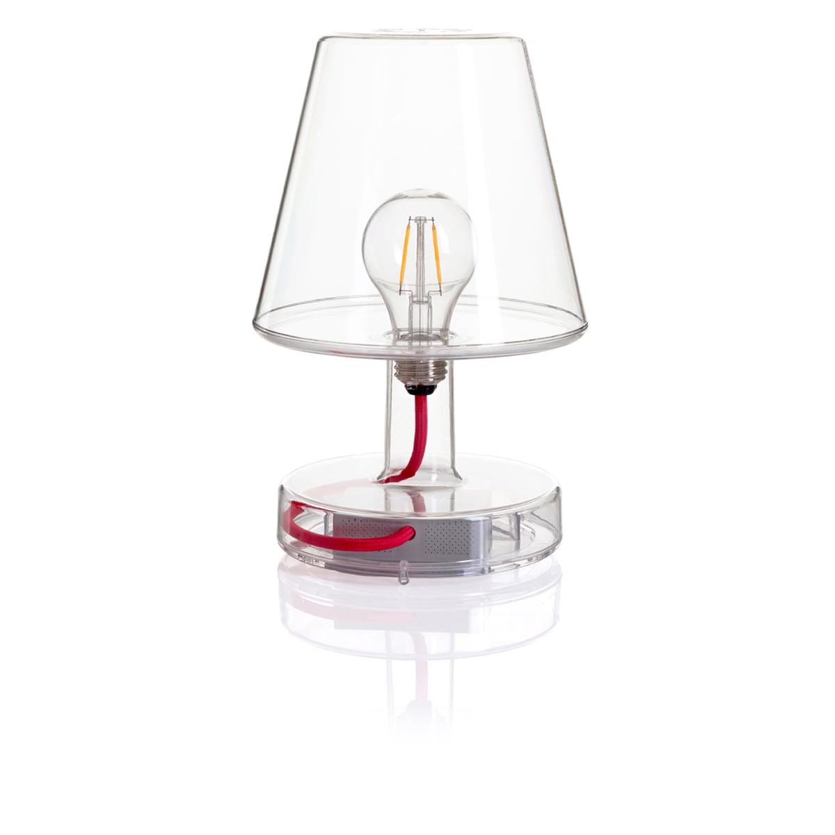 Einfache Dekoration Und Mobel Stylische Outdoor Lampe Fatboy Edison The Medium #25: Transloetje Tischleuchte Von Fatboy In Transparent