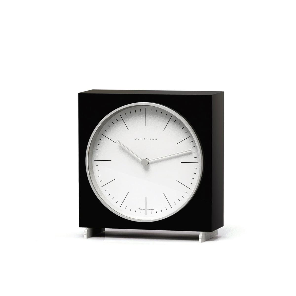 Tischuhr Design max bill quarz tischuhren junghans