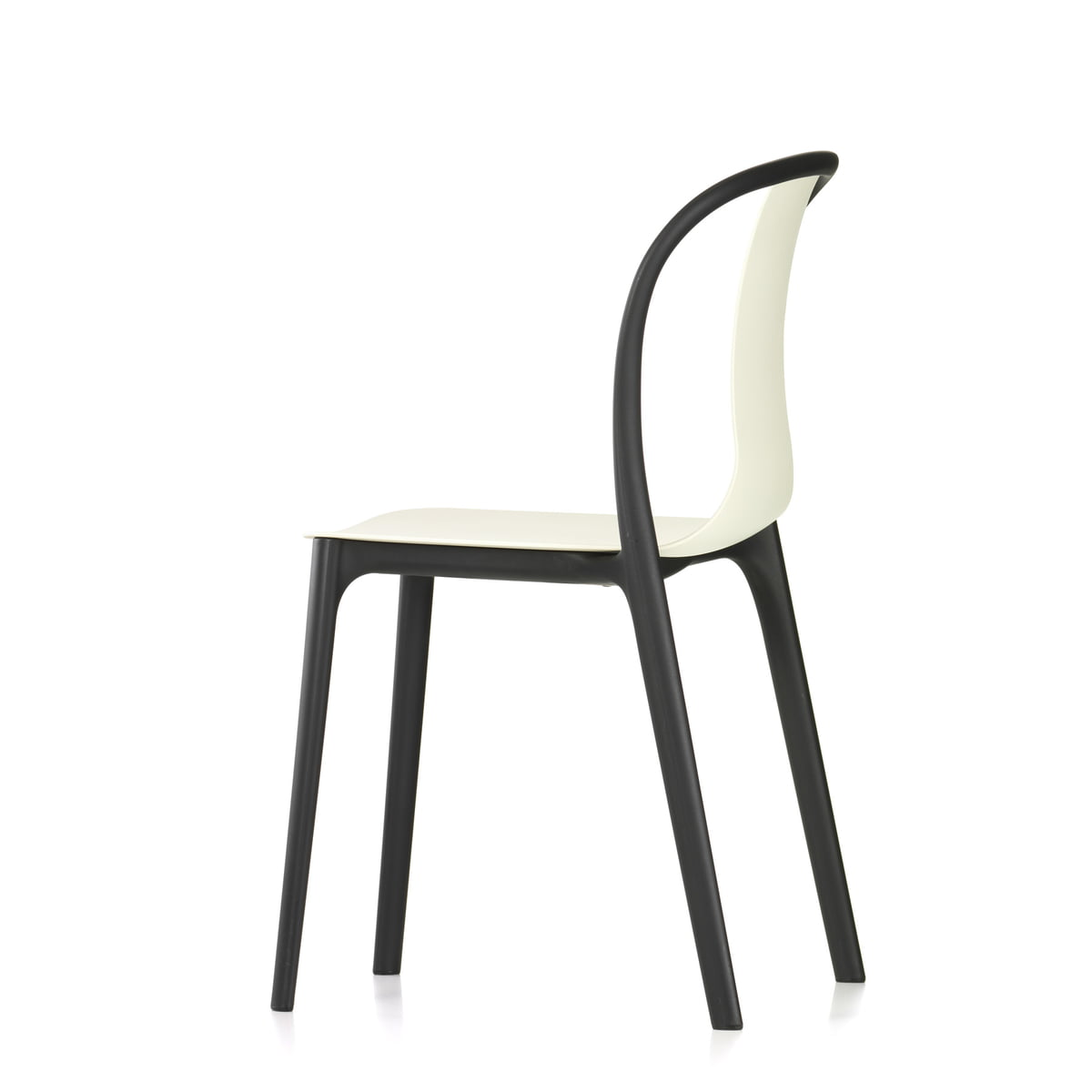 Belleville chair plastic von vitra im shop for Boutique vitra